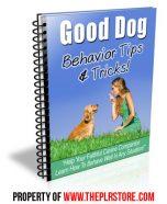 good-dog-training-plr-autoresponder-messages-cover