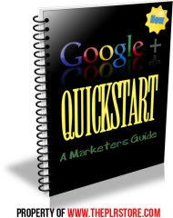 google-plus-quickstart-plr-ebook-cover  Google Plus Quickstart PLR Ebook and Website google plus quickstart plr ebook cover 190x240