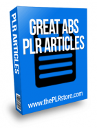 great abs plr articles