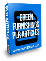 green-furnishings-plr-articles