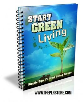 green-living-plr-listbuilding-package-cover