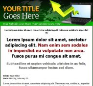green-minisite-plr-website-template-cover