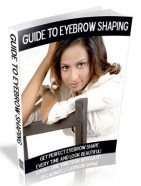 guide to eyebrow shaping plr ebook