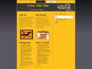halloween-plr-template-wordpress-screenshot