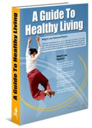 healthyliving200  Healthy Living Guide MRR eBook healthyliving200 180x250