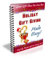 holiday-gift-giving-autorespoder-message-series-cover  Holiday Gift Giving Autoresponder Messages PLR (DELUXE) holiday gift giving autorespoder message series cover 190x233