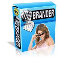 htmlbranderlgcover  HTML Brander PLR Software htmlbranderlgcover 190x195
