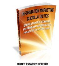 information-marketing-guerilla-tactics-plr-ebook  Information Marketing Guerrilla Tactics PLR Ebook information marketing guerilla tactics plr ebook 190x213