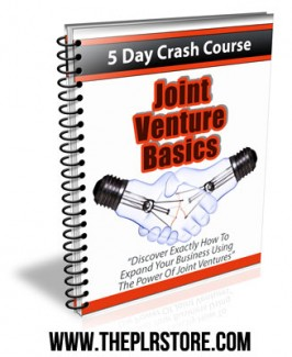 joint-ventures-basics-plr-autoresponders-cover