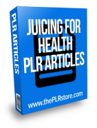 juicing-for-health-plr-articles
