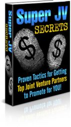 jvbook1  Super Joint Venture Secrets PLR eBook jvbook1 141x250