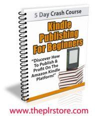 kindle publishing for beginners plr autoresponder