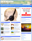 law of attraction plr website Law of Attraction PLR Website Adsense and Clickbank (DELUXE) law of attraction plr website 110x140