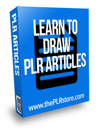 learn to draw plr articles