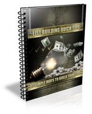 list-building-quick-profits-plr-ebook-cover  List Building Quick Tips PLR Ebook list building quick profits plr ebook cover 190x233