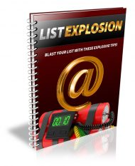 list-explosion-plr-ebook-cover  List Explosion PLR Ebook With Squeeze Page and Reseller list explosion plr ebook cover 190x233