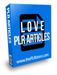 love plr articles