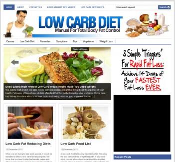 low-carb-diet-plr-website-cover