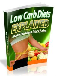 low carb diet explained ebook