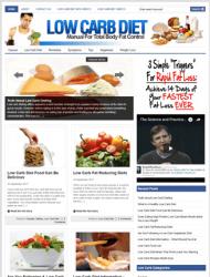 Low Carb Diet PLR Website low carb diet plr website Low Carb Diet PLR Website with Private Label Rights low carb plr website 190x250