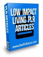 low-impact-living-plr-articles