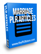 marriage plr articles