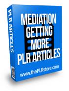 meditation getting more plr articles