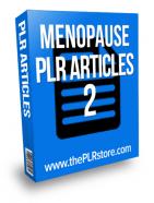 menopause plr articles