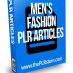 mens fashion plr articles