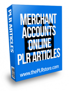 merchant accounts online plr articles