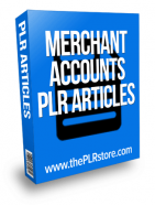 merchant accounts plr articles