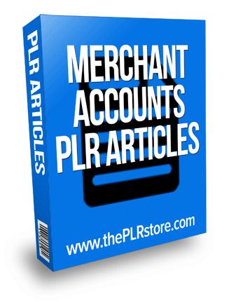 merchant accounts plr articles