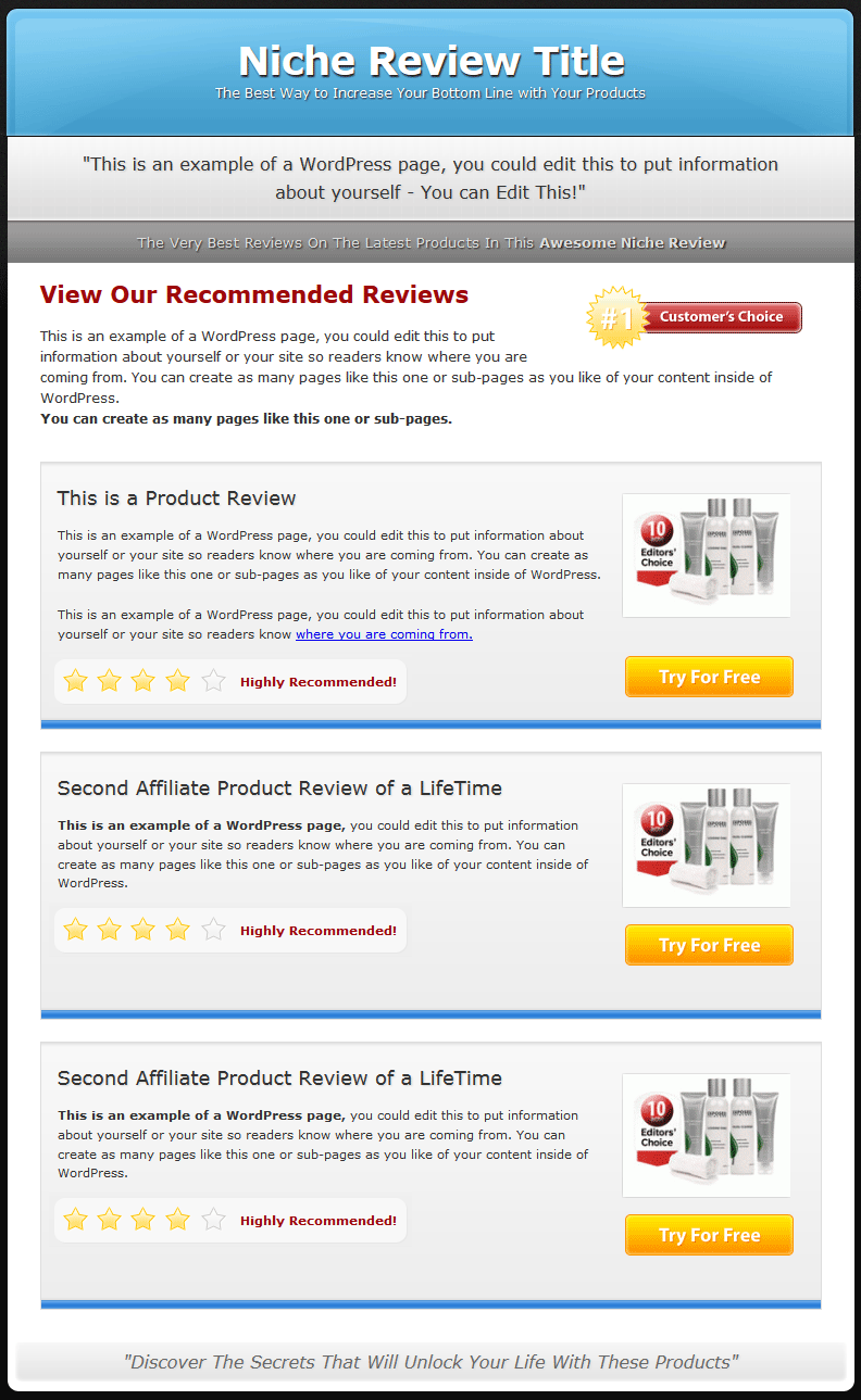 how to give review to a website