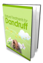 nattreatdandruffcover1  Natural Treatment for Dandruff MRR eBook nattreatdandruffcover1 173x250