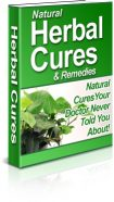 natural-herbal-cures-plr-ebook-cover