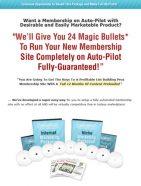 niche membership site content