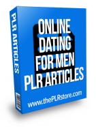 online dating for men plr articles