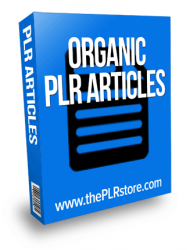 organic plr articles