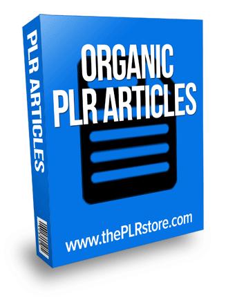 organic plr articles