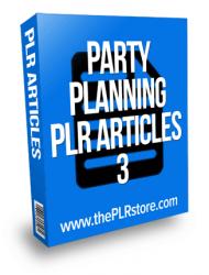 party planning plr articles party planning plr articles Party Planning PLR Articles 3 party planning plr articles 3 190x250