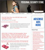 personal-security-plr-amazon-store-website-cover