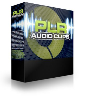 PLR Audio Clips plr audio clips cover 327x375