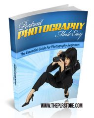 portrait-photography-easy-mrr-ebook-cover  Portrait Photography Made Easy MRR Ebook portrait photography easy mrr ebook cover 190x238