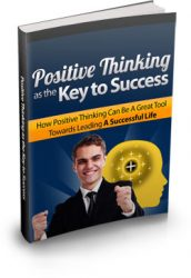 positive-thinking-key-success-mrr-ebook-cover