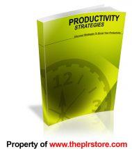 productivity-strategies-plr-ebook-cover
