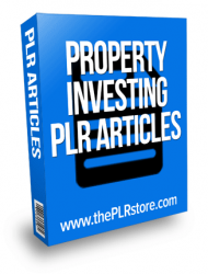 property investing plr articles