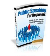 public-speaking-for-beginners-plr-cover