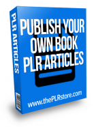 publish your own book plr articles