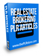 real-estate-brokering-plr-articles