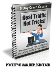 real-traffic-not-tricks-plr-autoresponders-cover